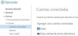Vincular dos cuentas de Outlook.com