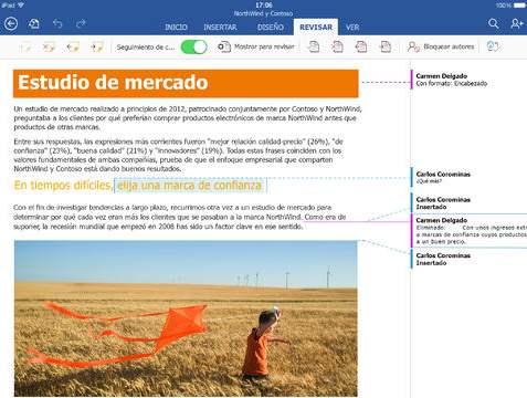Word para iPad