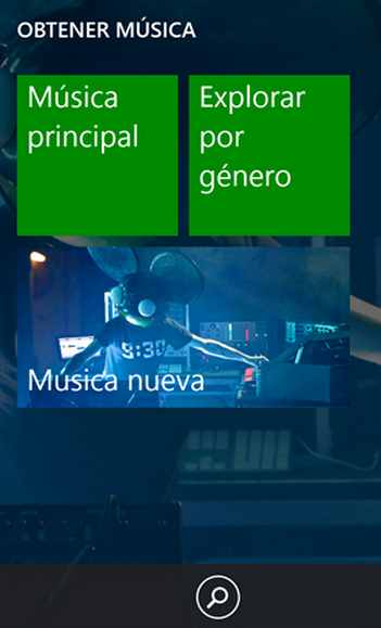 Xbox Music en Windows Phone