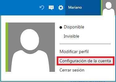 borrar una cuenta de Outlook.com