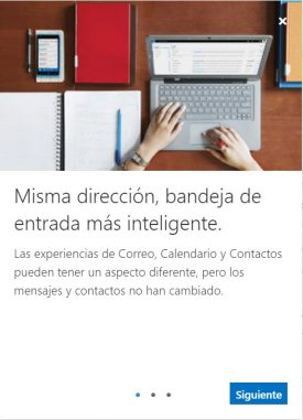 cambio de Outlook.com