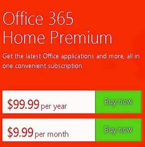 costo de Office 365