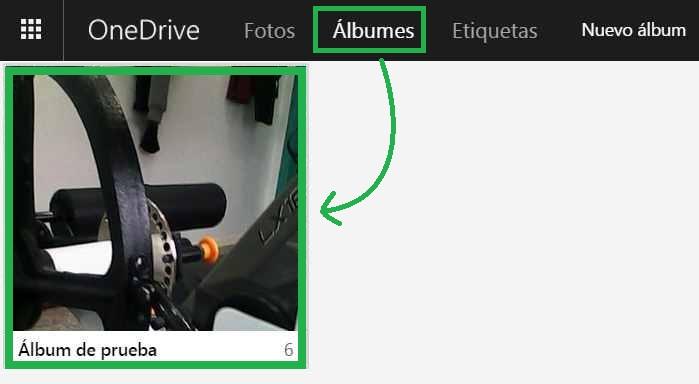 fotos en OneDrive
