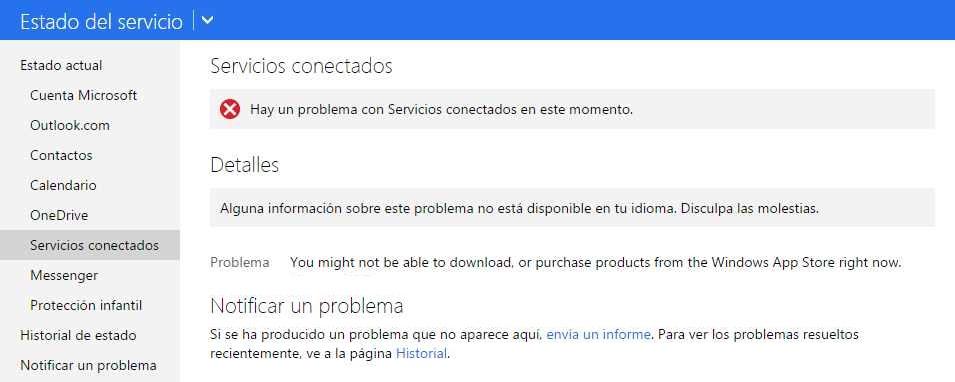 inconvenientes Windows Store