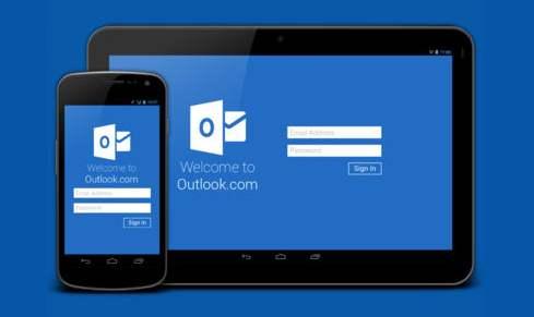 informe sobre la seguridad de Outlook.com para Android