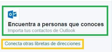seguir los contactos de Outlook.com en Twitter