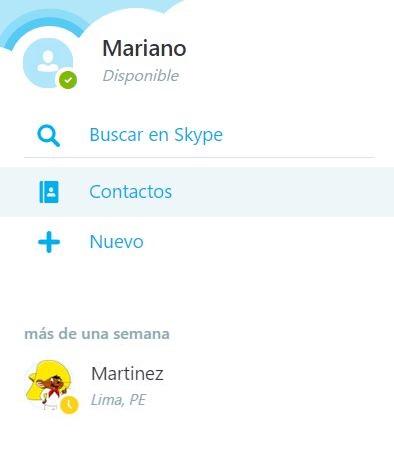 skype para el navegador