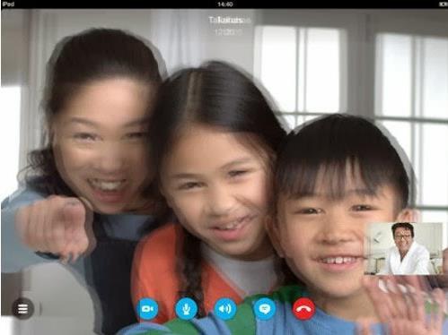 videoconferencias en 3D en Skype